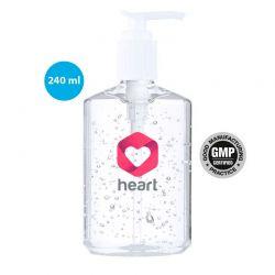 Gel para higiene y limpieza de la piel en bote 240 ml.