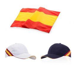 Set gorra + bandera de España