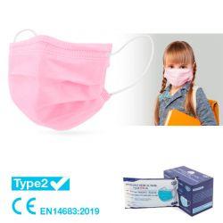 Mascarilla higiénica infantil Pack 10 und.