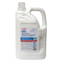 Gel hidroalcohólico limpiador de manos, 5 litros