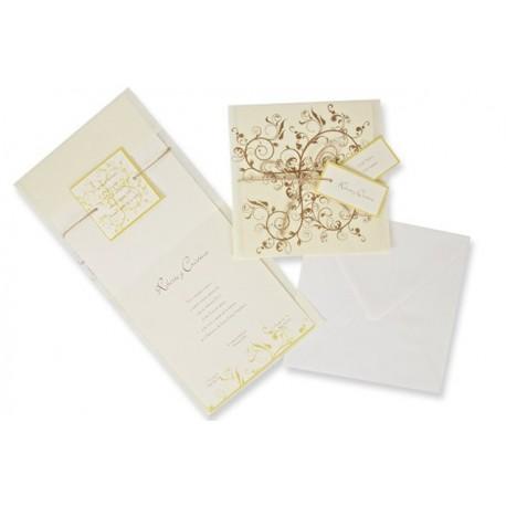 Invitación boda Edima Bouquet 476