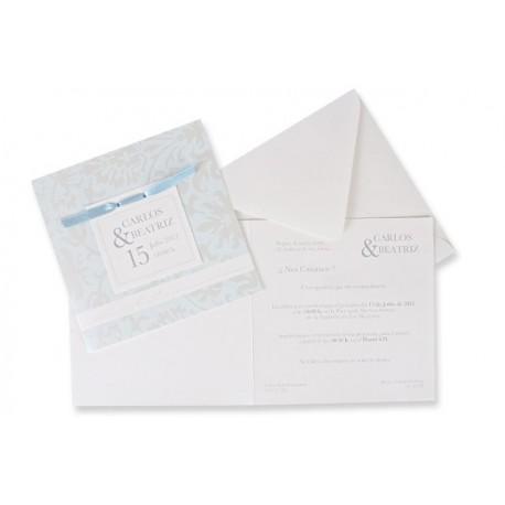 Invitación boda Edima Bouquet 541