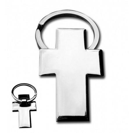 Llavero de metal Cruz, diseño especial para comuniones
