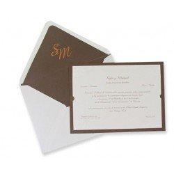 Invitación boda Edima Tradición 320
