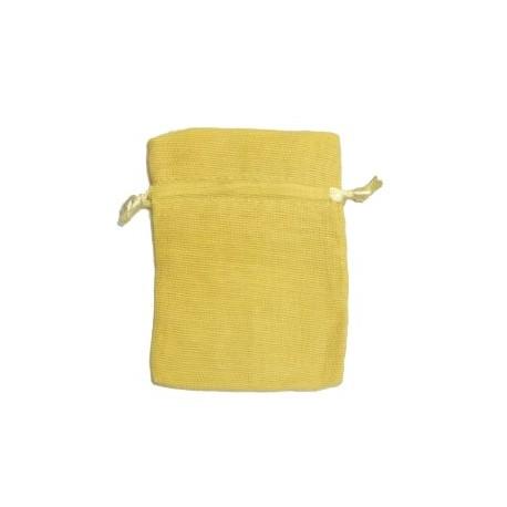 Bolsa algodón pequeña para amarillo