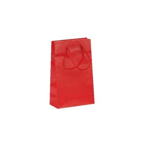 Bolsa Plastificada brillo en rojo
