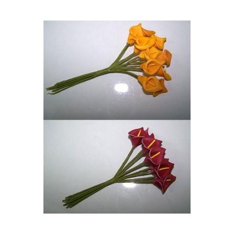 Flores para decorar los detalles y regalos de los invitados