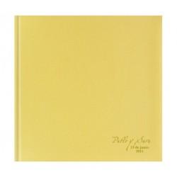 Libro de firmas boda dorado
