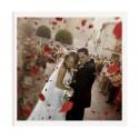 Libro de firmas de boda blanco