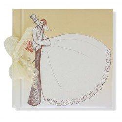 Libro de firmas boda Novios Vintage