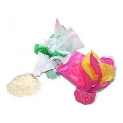 Arroz en papel de seda