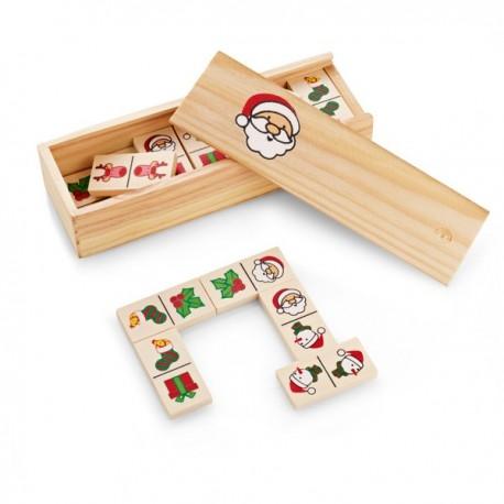 Domino infantil con dibujos navideños