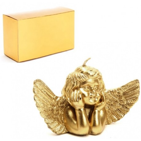 Vela decorativa ángel, ideal para navidad