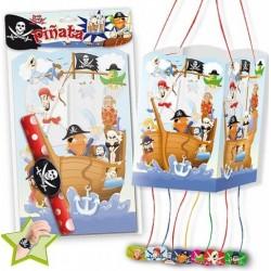 Piñata piratas