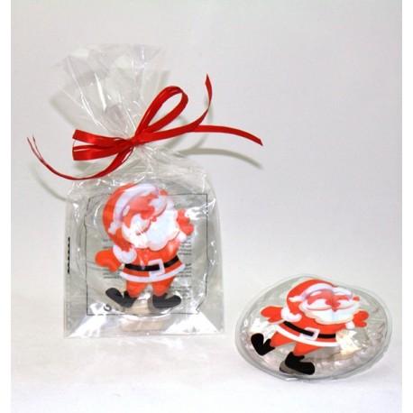 Bolsa de calor Santa Claus decorada, reutilizable