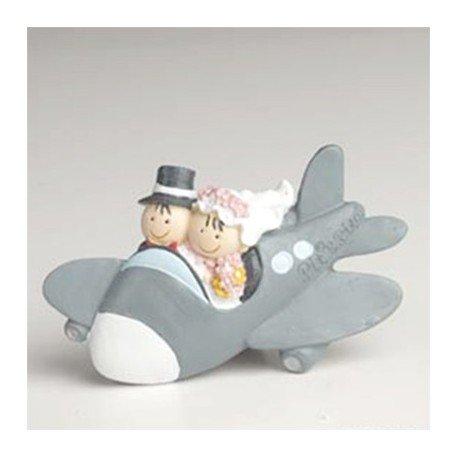 Imán Pit y Pita novios en avión