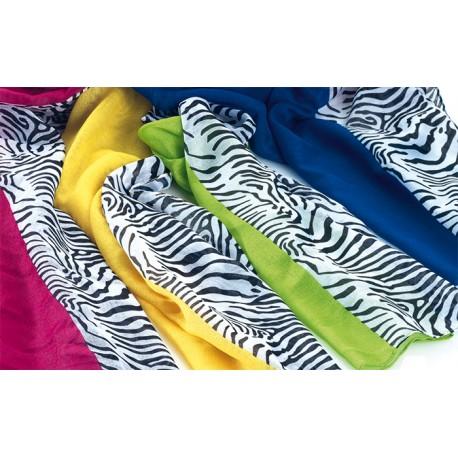 Foulard con estampado, modelo Cebra. Colores variados