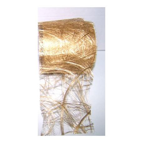 Abaca sintética oro
