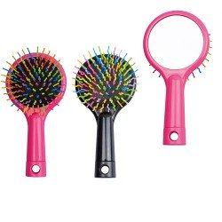 Cepillo pelo con espejo