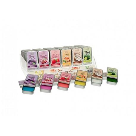 Brillo labial en caja de metal Secret Fragrances