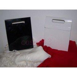 Caja bolso troquelada con base