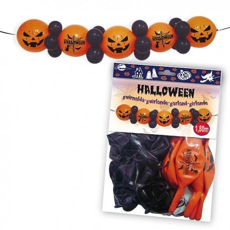 Guirnalda para la decoración de la fiesta de Halloween