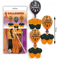 Kit centro globos Halloween