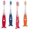 Cepillo dientes infantil carita sonriente