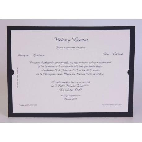 Invitación boda Edima Marina 709