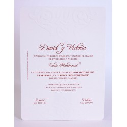 Invitación boda Edima Marina 708