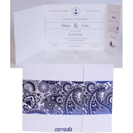 Invitación boda Edima Marina 715