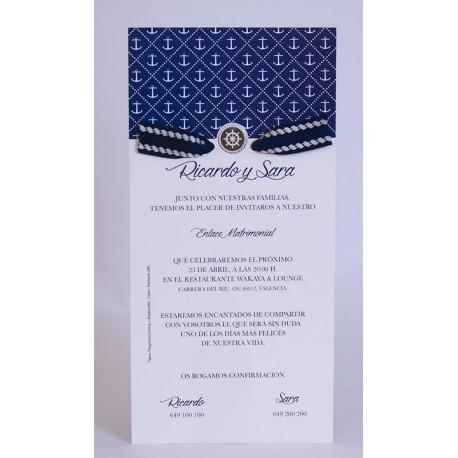 Invitación boda Edima Marina 725