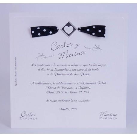 Invitación boda Edima Marina 728