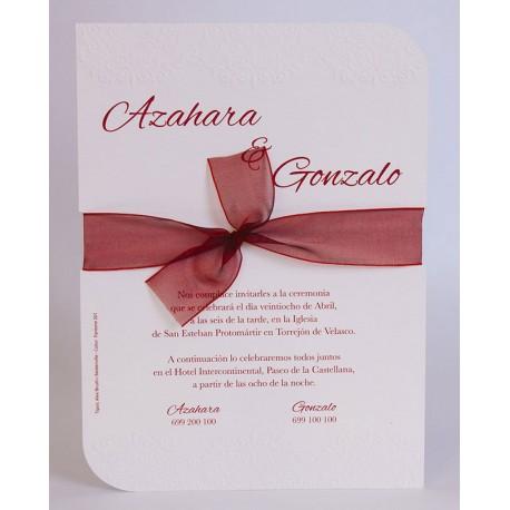 Invitación boda Edima Bouquet 730