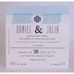 Invitación boda Edima Bouquet 721