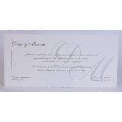 Invitación boda Edima Tradición 054