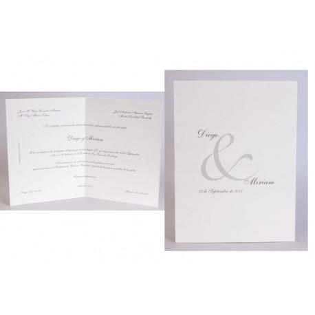 Invitación boda Edima Tradición 058