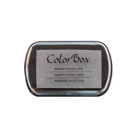 Tintas sellos para papel y cartón, metalizados, color plata