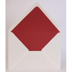 Pack de 25 sobres blancos con forro interior colores lisos