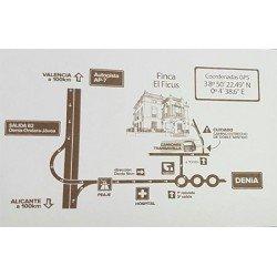 Tarjeta plano eventos Esencia 718