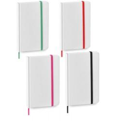 Bloc de notas con goma colores