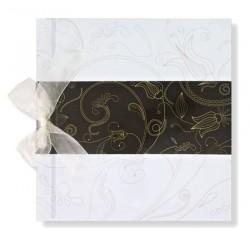 Libro de firmas boda Banda en negro