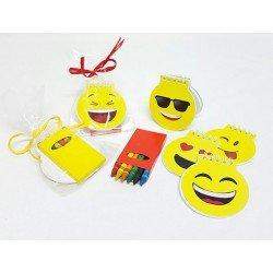 Libreta emoji con ceras