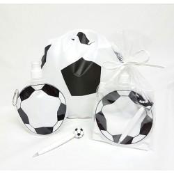 Set eventos mochila con botella y boli fútbol