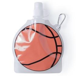 Botella infantil plegable balón baloncesto