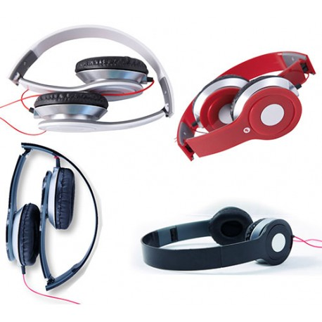 Auriculares plegables