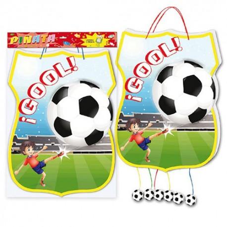 Piñata fútbol
