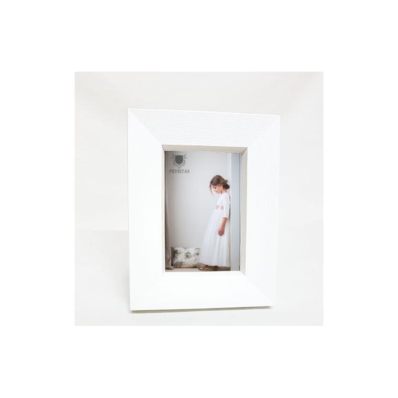 Detalles invitados: marco fotos blanco