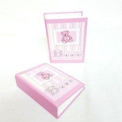 Album de fotos en rosa