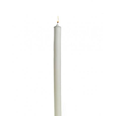 Círio para bautismo, vela de 50 cm. de altura y 4 de diametro